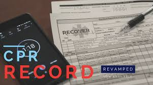 Recover Cpr Record Sheet Revamped Recover Initiative