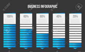 Creative Table Chart Creative Vector Illustration Of Columns Bar Chart Comparison