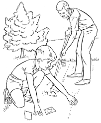 Color the video characters by kids learning tube! Garden Coloring Pages Coloring Rocks