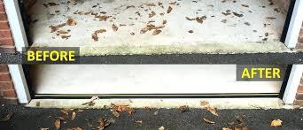 how to seal garage door weather defender garage door floor seal garage door seal weather defender