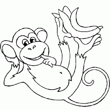 Small Picture Printable Coloring Pages Of Monkeys Barriee