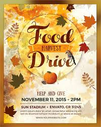 Food Drive Flyers Templates 18 Food Drive Flyer Templates Psd Ai Word Free