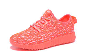 adidas shoes 2016 pink. 2016 adidas yeezy 350 boost women running shoes orange pink