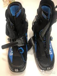 Лыжные ботинки <b>Salomon SLab</b> Carbon Skate купить в Москве на ...