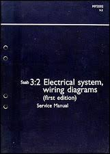 saab manual 2002 saab 9 3 electrical system shop manual wiring diagram book 93 original oem fits