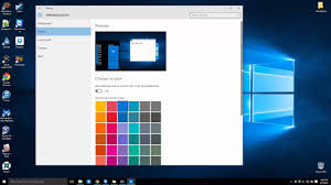 Windows 10 Color Scheme Slice Tech Windows 10 Basics How To Change The Color Scheme In