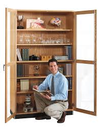 all science storage cabinet with glass doors by diversified