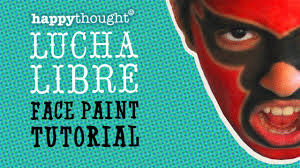how to face paint a lucha libre mask easy 5 step tutorial including free pdf you