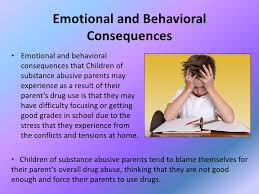 children affected by their parent s substance abuse emotional