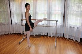 see more pictures of my diy ballet barre right here