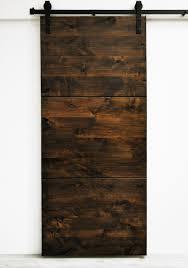 modern interior barn doors. Dogberry Collections Modern Slab Wood 1 Panel Stained Interior Barn Door \u0026 Reviews | Wayfair Doors O