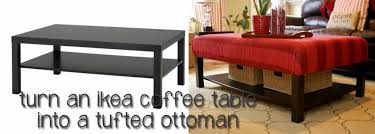 red ottoman coffee table ikea sample classic white amazing turn into a tufted