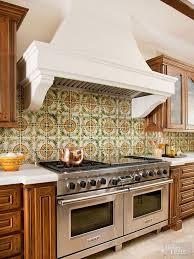 21 Tile Ideas That Will Mesmerize You. Kitchen HoodsKitchen ...