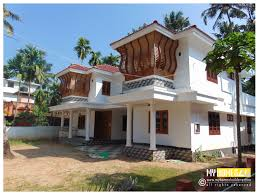low cost house plans elevation and home design in kerala traditional with photos homes de