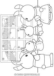 Calico Critters Coloring Page Free Download