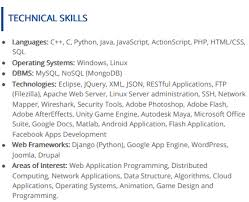 Basic Skills For A Resume Computer Skills For Resume The 2019 Guide 100 Examples