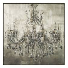 picture of crystal chandelier canvas art