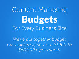 Marketing Budget Template Enchanting Content Marketing Budget Examples For All Business Sizes