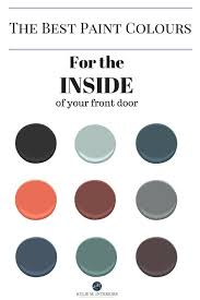 Image Trim My Fave Interior Front Door Colours Kylie Interiors The Best Colours To Paint The Inside Of Your Front Door