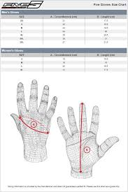 Five Gloves Size Chart Sydney City Motorcycles