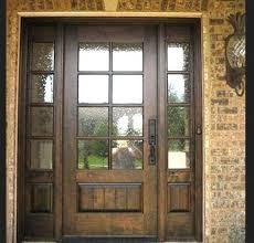 astounding exterior wooden door with glass exterior glass wood door exterior wooden doors with glass panels