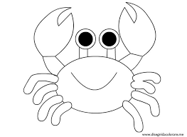Small Picture Cute Crab Coloring Pages For Children Coloring Pages Pinterest