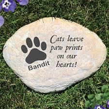 end cat memorial stone