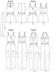 Women's Romper Pattern