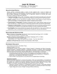 student resume sample experience resumes psychology resume objective examples