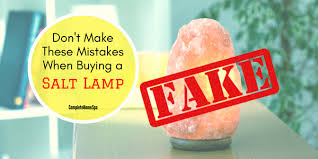 Himalayan Salt Lamp Hoax Extraordinary Don't Make These Mistakes When Buying A Salt Lamp Sep 32