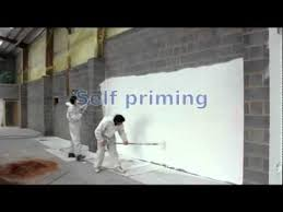 painting block wallPainting block walls in one pass with a single coat of paint  YouTube
