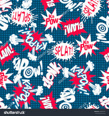 comic book action words seamless pattern stock vector 384042934 comic book action words seamless pattern