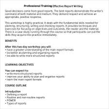 Sample Report Writing Format – 31+ Free Documents In Pdf With ...
