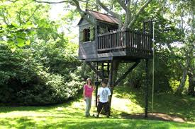Backyard Houses For Kids Simple Kids Tree House Plans To Make Your