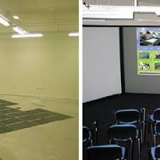 the pressure sensitive pads placed underneath the carpet l u201cthe sentient collaborative office spaces 320 c8 320