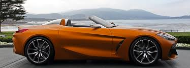 BMW concept Z4 reveal at concours d'elegance in pebble beach