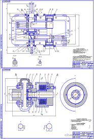 Редуктор привод курсовая работа по деталям машин Чертежи РУ Курсовой проект Цилиндрический соосный редуктор