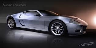 galpin auto sports ford gtr 1 rendering front three quarter