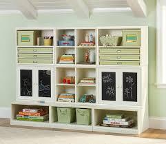 cool kids storage idea - i like the chalkboard doors