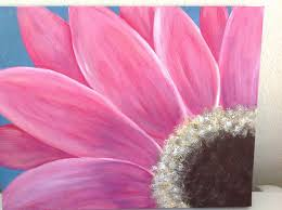 angela anderson art blog gerbera daisy painting submitted artwork