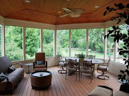 screened porch flooring best