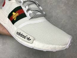 gucci adidas. chaussures de course 2017 adidas nmd available new run shoes noir/black white/ gucci