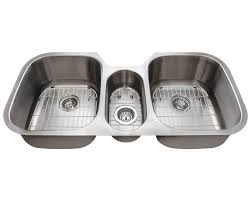 4251 Triple Bowl Stainless Steel Sink