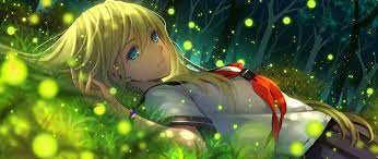 2560X1080 Green Anime Wallpapers - Top ...