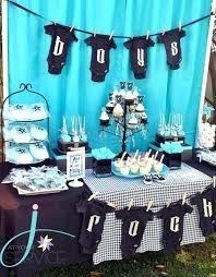 diy baby shower centerpieces boy modern theme decoration ideas centerpiece
