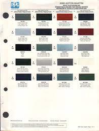 Aston Martin Paint Colors Page 1 Line 17qq Com