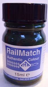 Railmatch Paints Colour Chart Railmatch 631 Sr Dark Olive Green Enamel New 15ml Jar