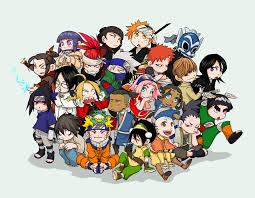 anime characters chibi.  Chibi Assorted Chibi Anime By MrVasconcelos  Throughout Characters
