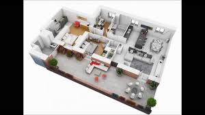 4 Bedroom Apartment House Plans   YouTube