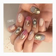 Mirror Metallic Instagram At Mnkaori Nails Nailsalon Nailart